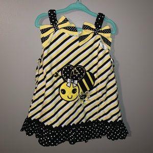 Toddler Girl Bumblebee Dress